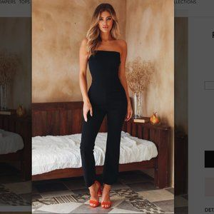 NWT Hello Molly Play for It black jumpsuit